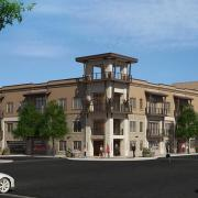 425 mills mixed use architectural rendering