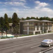 bellevue athletic club architectural rendering