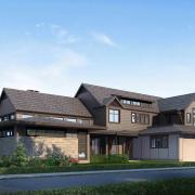 burke development residential house exterior rendering 1