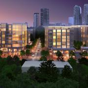 gateway noma night mixed use rendering