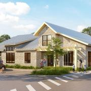 hnn gateway clubhouse exterior rendering