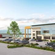 panattoni pacific logistics north distribution center rendering