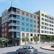 seattle mixed use exterior rendering 1