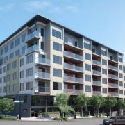 seattle mixed use exterior rendering 2