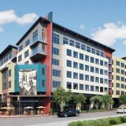 seattle mixed use exterior rendering 3