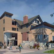 shasta house adaptive reuse activity center exterior