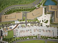 talus corporate campus satelite architectural rendering