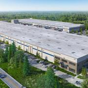 woodinville dermody maltby distribution logistics center 3d rendering