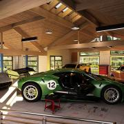 brabham bt62 carrieage house automotive 3d rendering