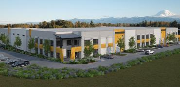 fennel creak distribution center exterior rendering 2