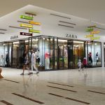 zara retail mall interior rendering option b
