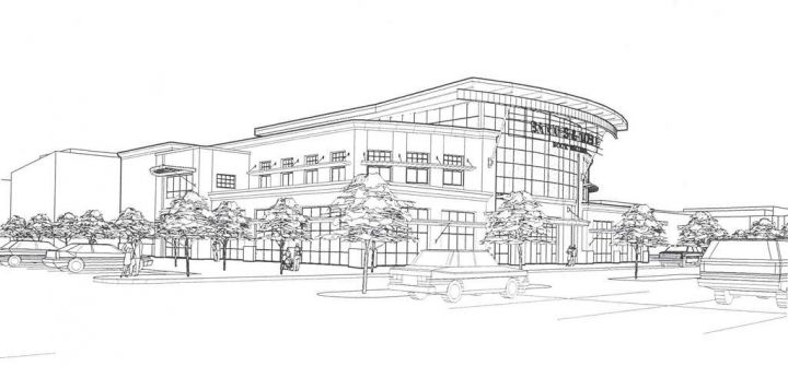 bn northgate mall concept a hidden line illustration