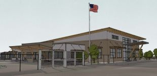 cascade natural gas facility sketchup illustration