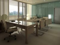 conference room inteior design rendering 407