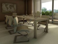 conference room inteior design rendering 408
