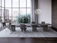 glam conference room interior design rendering