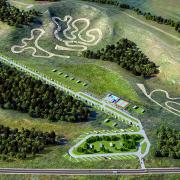 no limits motocross racing track club aerial rendering 1