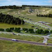 no limits motocross racing track club aerial rendering 2