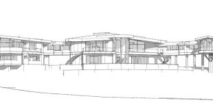 yakima custom home design concept sketch architectural illustration