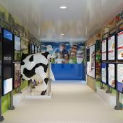dairy industry educational trailer product illustration photorealistic rendering 2