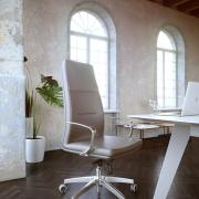 genesis executive chair product illustration photorealistic rendering 4