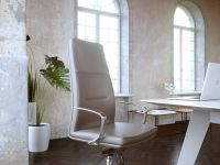 genesis executive chair product illustration photorealistic rendering 527