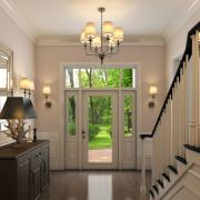 jeld wen entry door product illustration photorealistic rendering int02