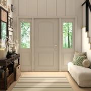 jeld wen entry door product illustration photorealistic rendering int04