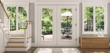 jeld wen entry door product illustration photorealistic rendering int06