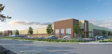 viking distribution logistics center architectural visualization renderings
