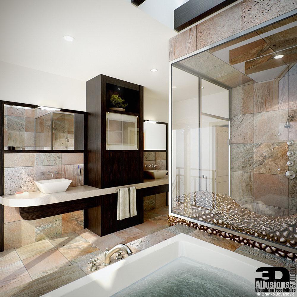 Simeon condominium architectural rendering project 3das for 3ds max architectural rendering