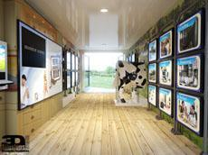 Dairy Trailer Exhibit